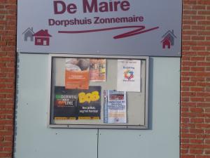 Nieuwe naam dorpshuis De Maire is een feit!